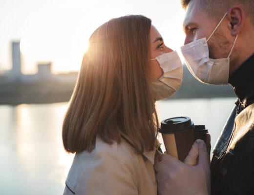 randkę w czasie pandemii